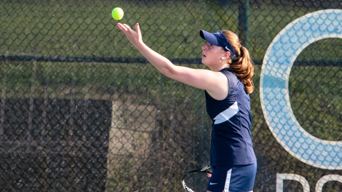 Trerotola Forces Third Set as Women's Tennis Takes Skyline Loss From Purchase