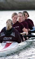 Women's Crew Posts Pair of Wins at Blue Herron Regatta