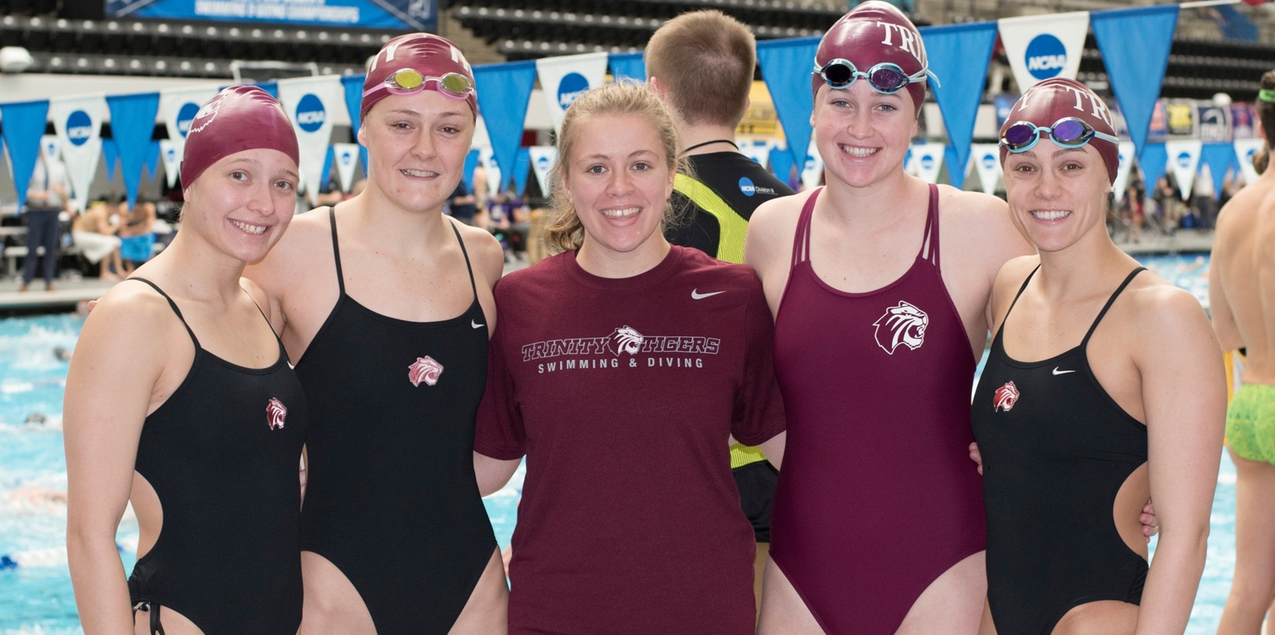 Trinity Relay Team Highlights Day Two of NCAA Swimming & Diving Championships