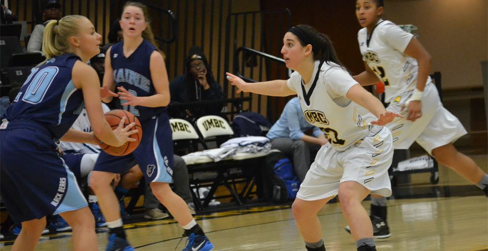 Women's Basketball Falls to Maine, 56-42