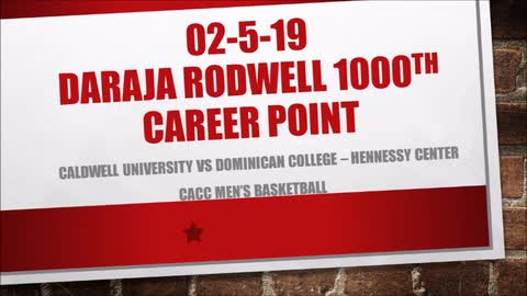 CHARGER VIDEO HIGHLIGHT: DARAJA RODWELL'S 1000TH CAREER POINT