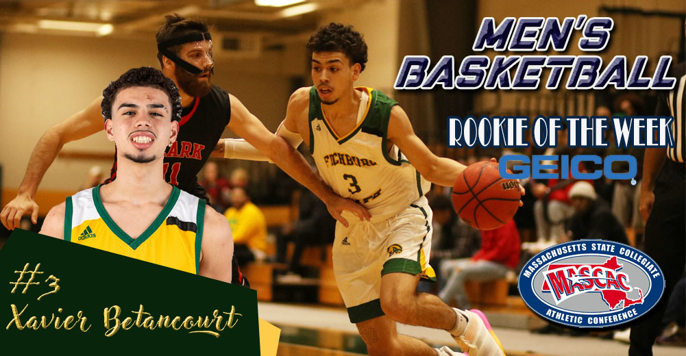 Betancourt Selected MASCAC Men's Basketball Rookie Of The Week