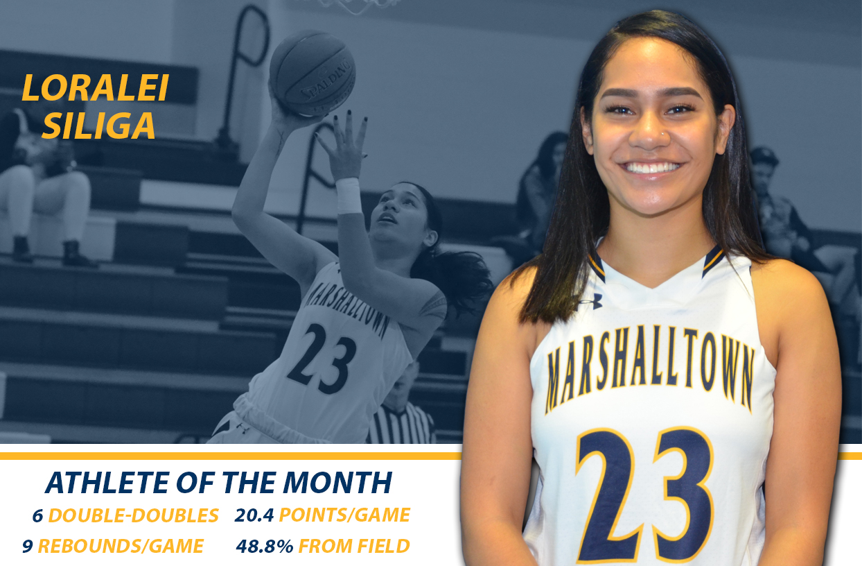 November MCC Female Athlete of the Month: Loralei Siliga