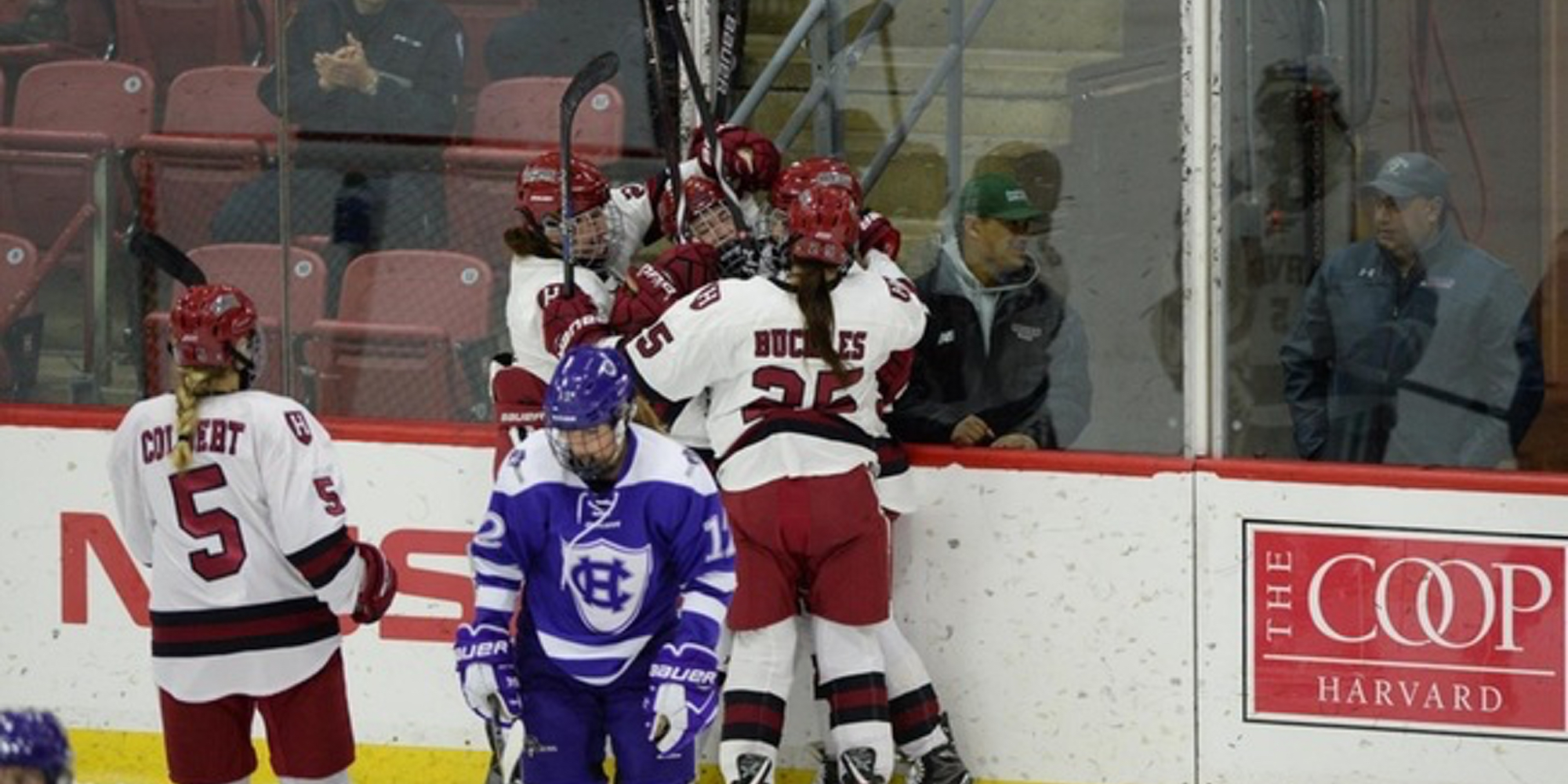 Eleven Different Players Tally Points in Crimson Victory Over Holy Cross