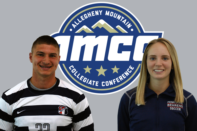 Mastovich, Belack Named AMCC Athletes of the Week