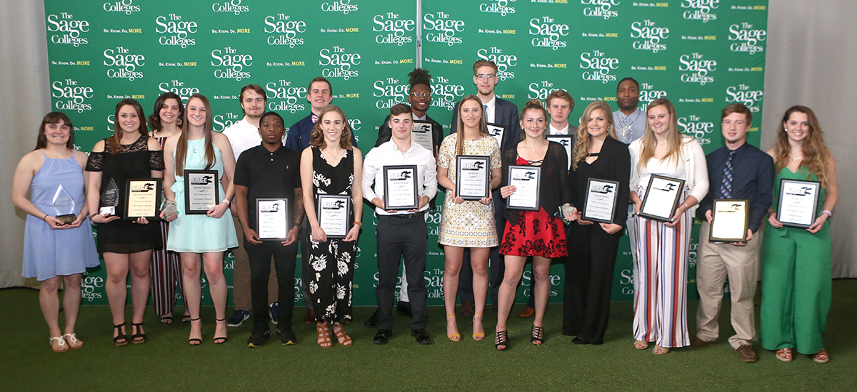 Sage student-athletes honored at Athletic Department Banquet