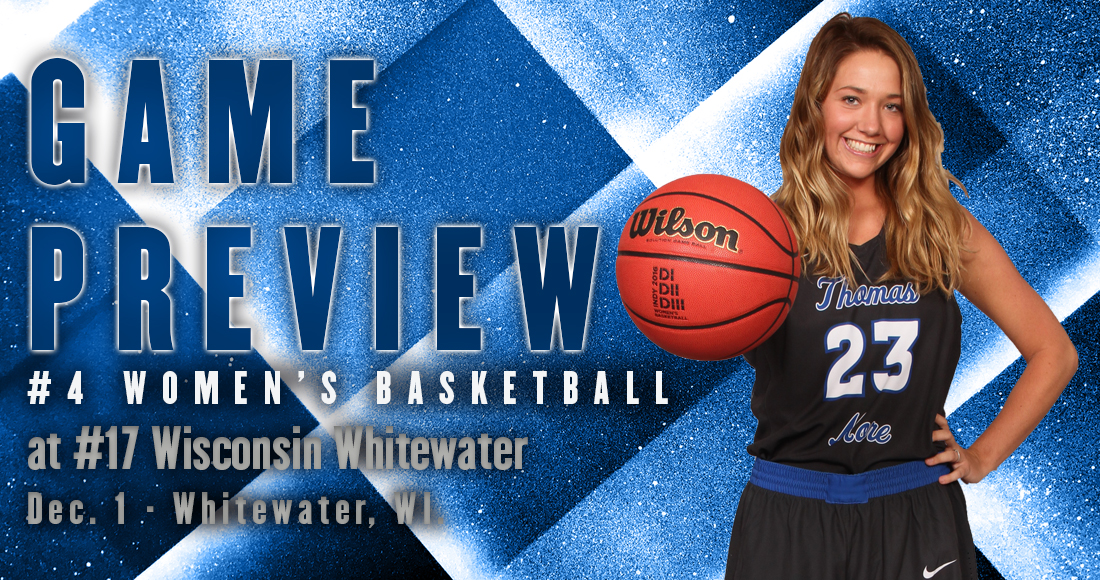 Women's Basketball Kicks-Off 11-Game Road Stand at Wis. Whitewater