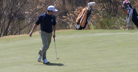 #9 Bobcat Golf One Stroke Back at Southeastern Collegiate, Garrett in Lead