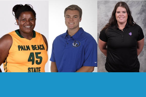 NJCAA lauds three from Region 8