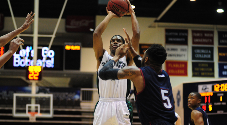 Strong Second Half Fells Bobcat Men, 77-66