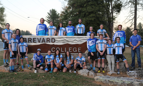 Cycling Team Photo