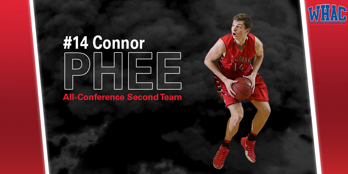 Photo for Phee honored in WHAC men's basketball season awards