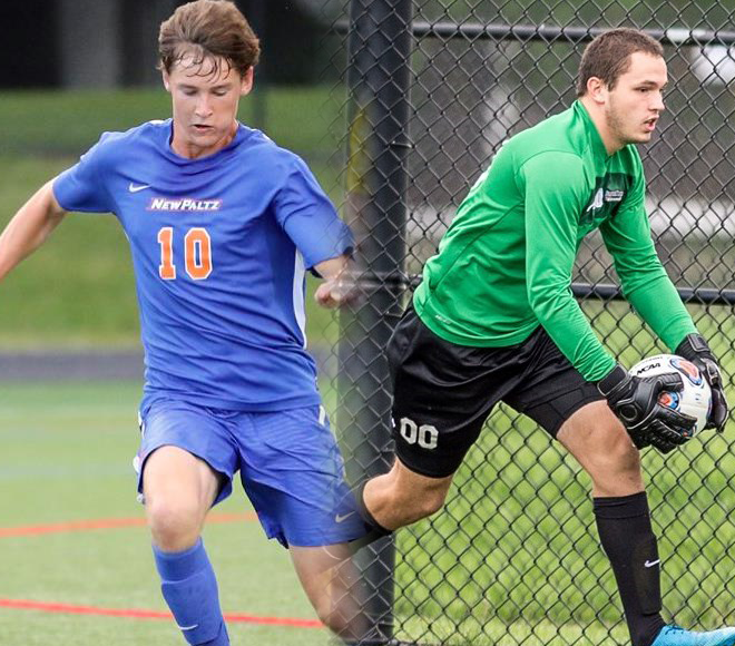 SUNYAC announces Men's Soccer Athletes of the Week
