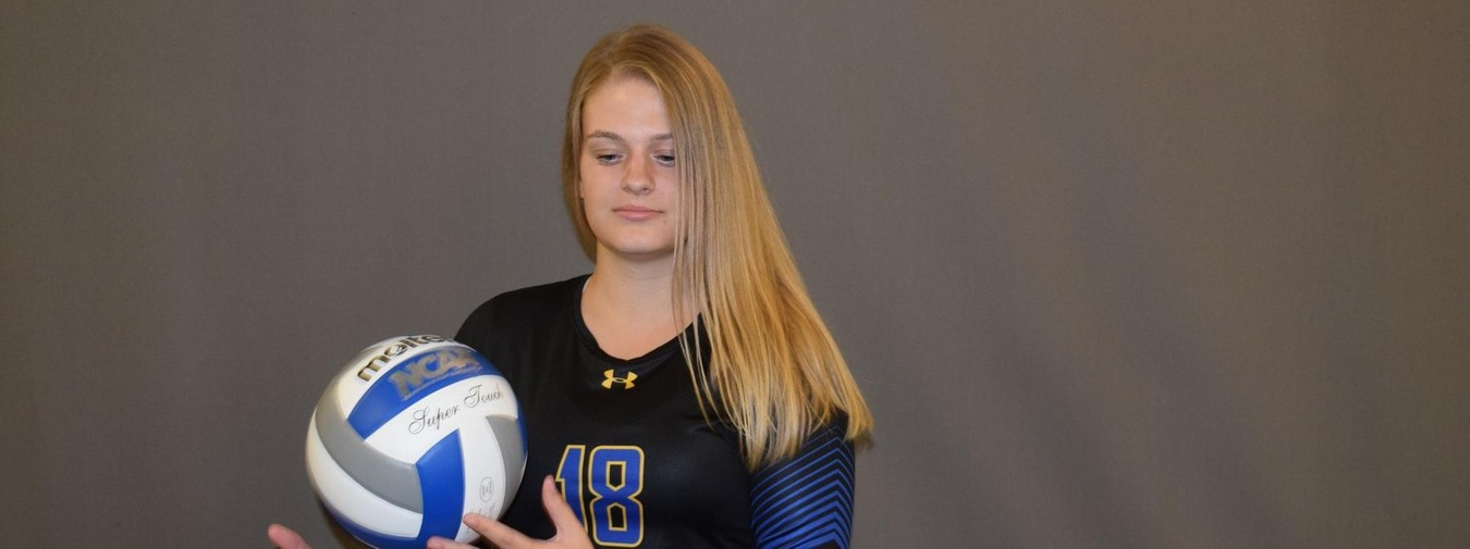 Chapman Helps Goucher Women's Volleyball Swat Shenandoah 3-0 To Continue Best Start Since 2006