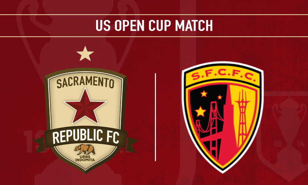 SACRAMENTO REPUBLIC FC PLAYS LAMAR HUNT U.S. OPEN CUP AT SACRAMENTO STATE, HOSTED BY MEN'S SOCCER