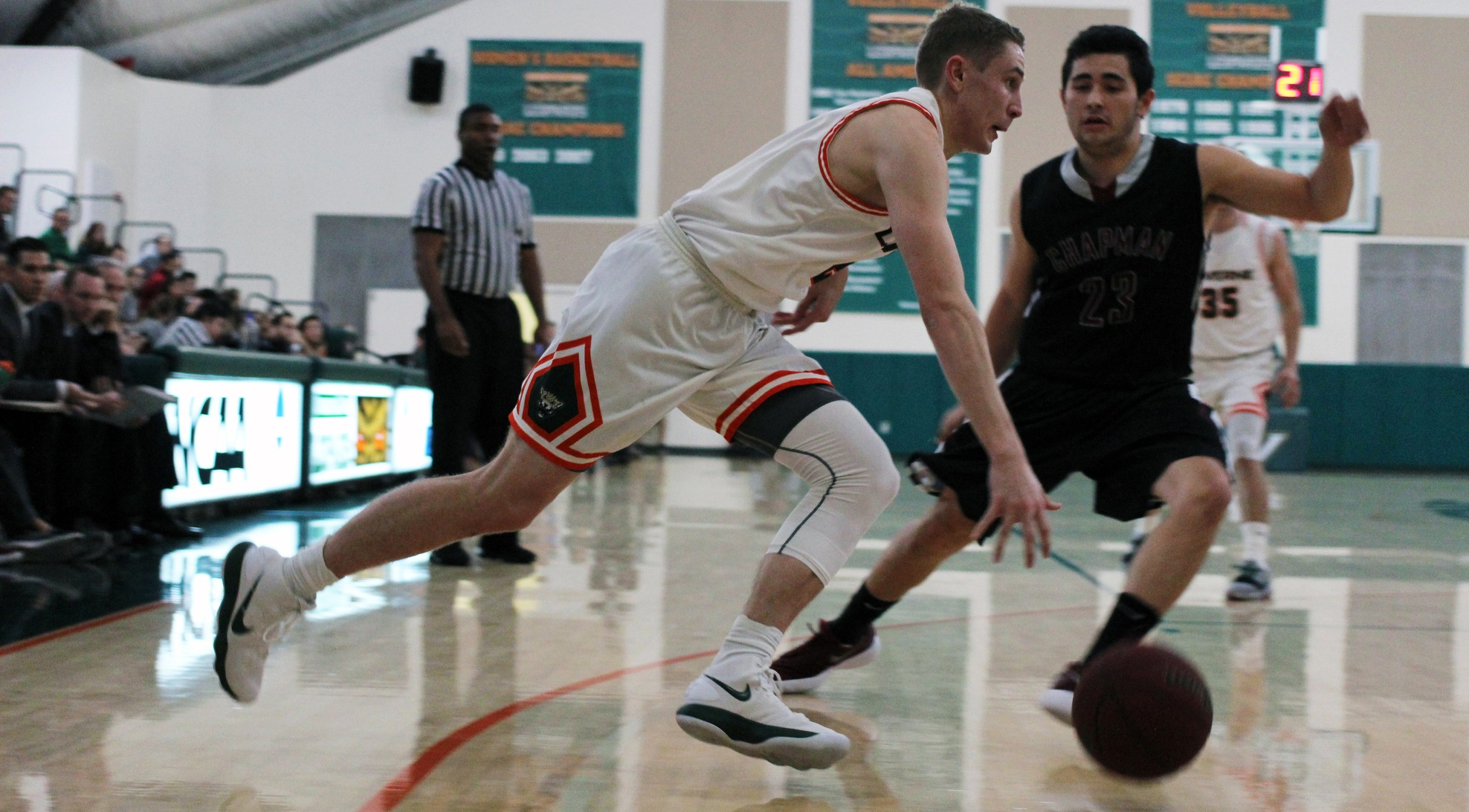 Chapman pulls away from Leopards late