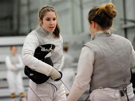 Women's fencing topples Drew at Penn State Invitational