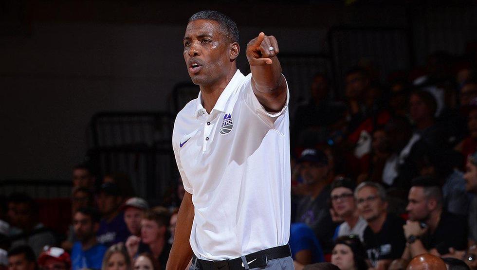 Larry Lewis (Photo courtesy of the Sacramento Kings)