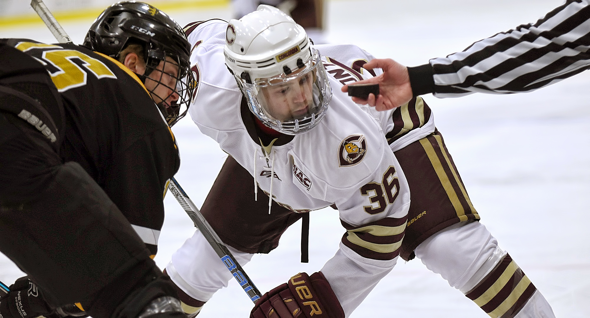 Sophomore Brock Montgomery scored his first collegiate goal in the Cobbers' regular-season finale at Augsburg.