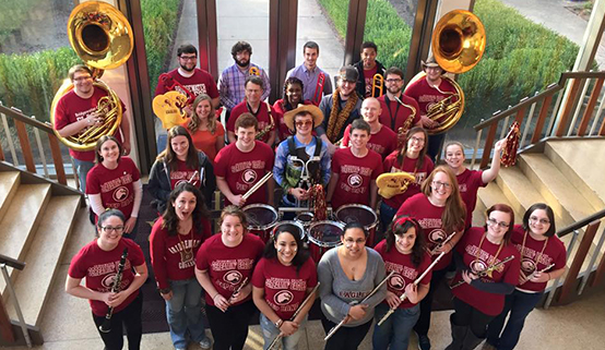 pep band team picture