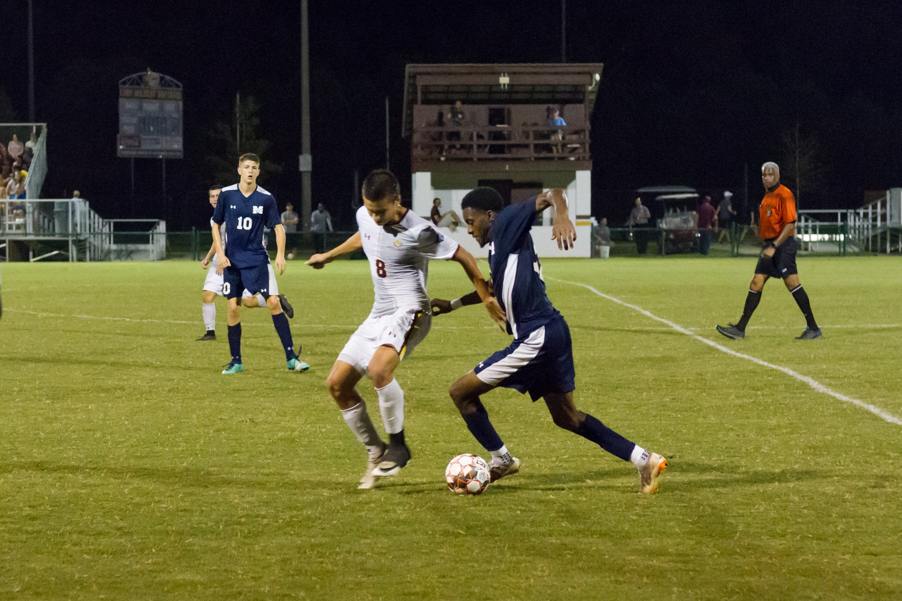 Pearl River men clinch playoff berth by sweeping rival Gulf Coast