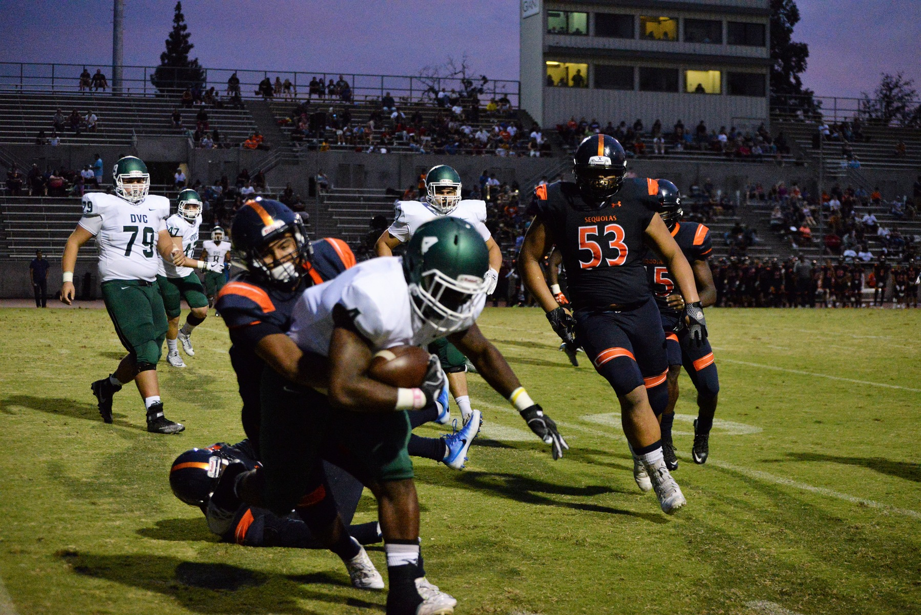 Giants fall at No. 7 Laney College