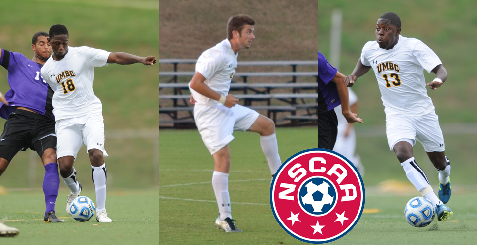 Caringi, Ballo, Dacres Rewrite UMBC History Books as Trio Named NSCAA All-Americans
