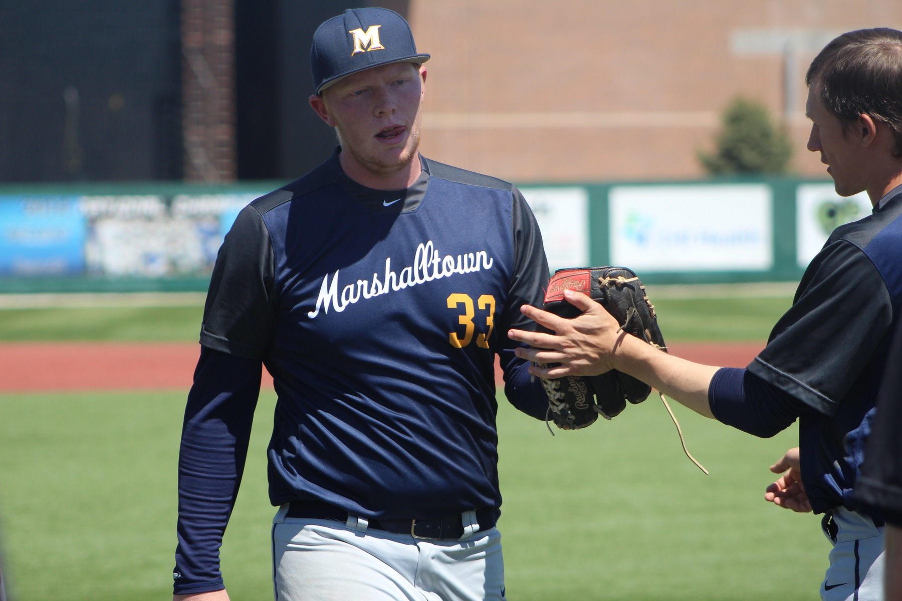 The MCC baseball team fell twice on the road to No. 12 Iowa Western on Sunday