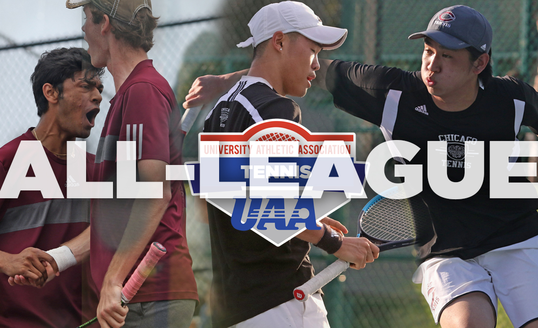 Six UChicago Men's Tennis Players Included on All-UAA Teams