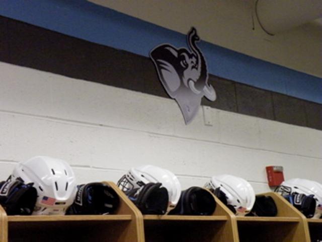 Tufts Football Locker Room