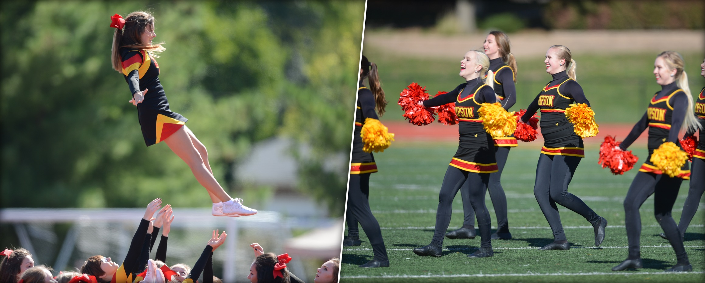 Cheer and Dance teams to compete at IIAC Invitational on Sunday