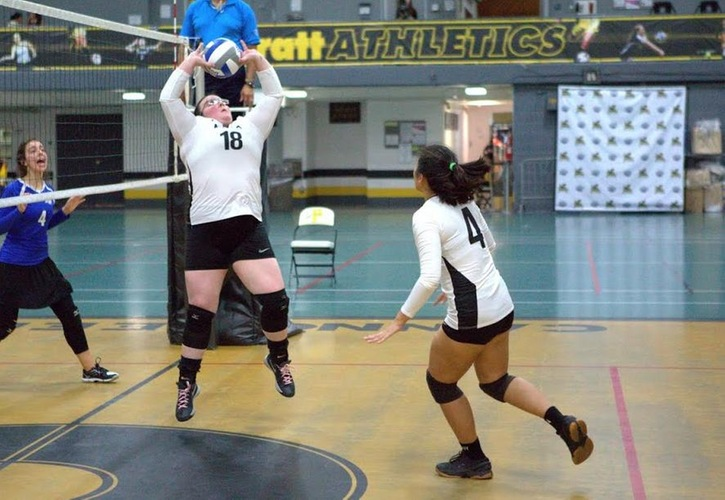 Women's Volleyball: Pratt 3, Culinary 1