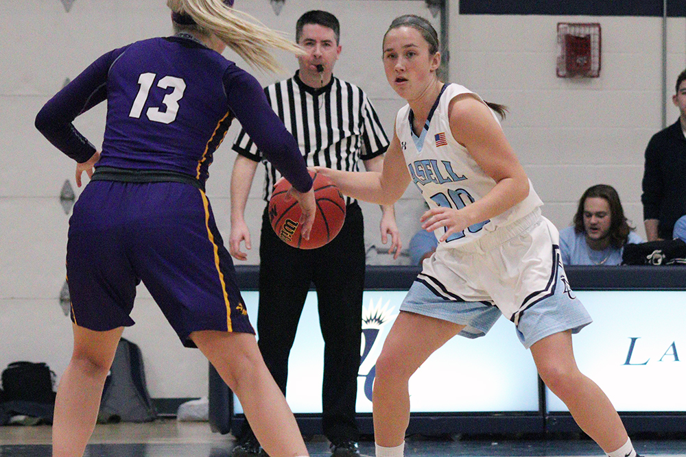 Lasell Women's Basketball falls to Emerson