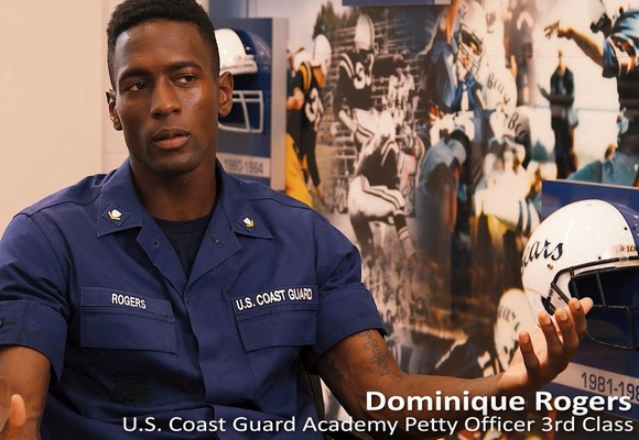 YN3 Rogers Combines Coaching and Serving in the Coast Guard