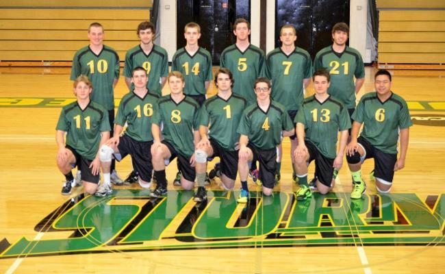 The Keuka College men's volleyball team concluded the season-opening Johnson & Wales Tip-Off Tournament with a pair of losses Saturday afternoon.