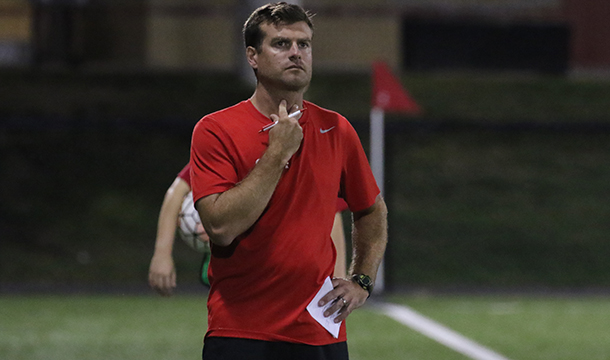 After a 14-win season in 2016, Clark University head coach Matt O'Toole was named NEWMAC Coach of the Year.