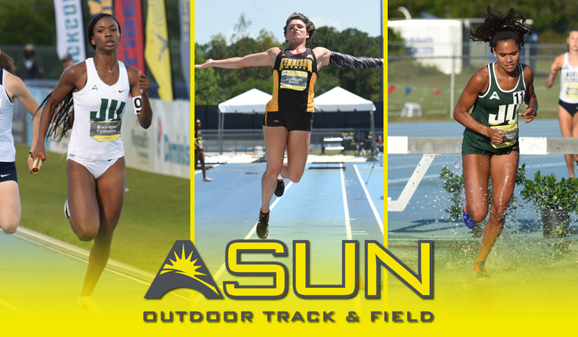 Gray, Palotti & Toombs Tabbed Women's Championship Outdoor Award Winners