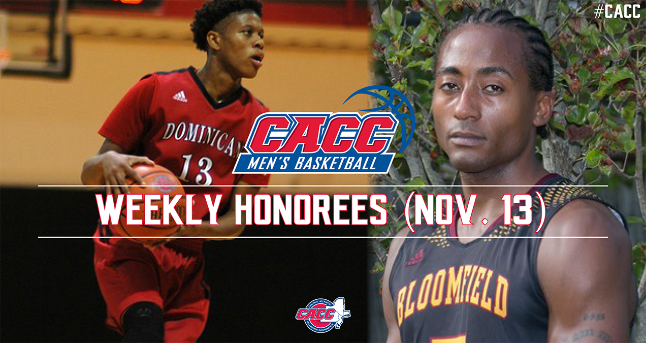 CACC Men's Basketball Weekly Honorees (Nov. 13)