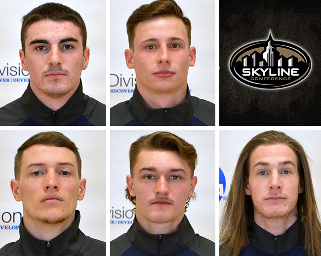 Men's Lax Places Five on Skyline All-Conference Second-Team
