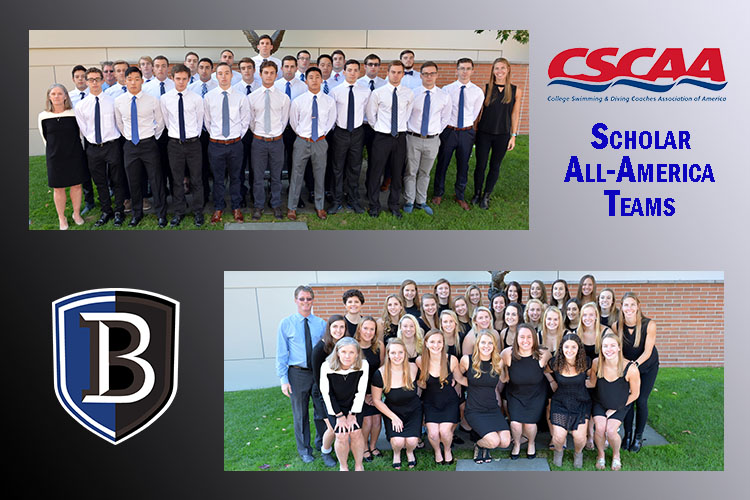 Bentley Swim Teams Honored by CSCAA for Academic Success