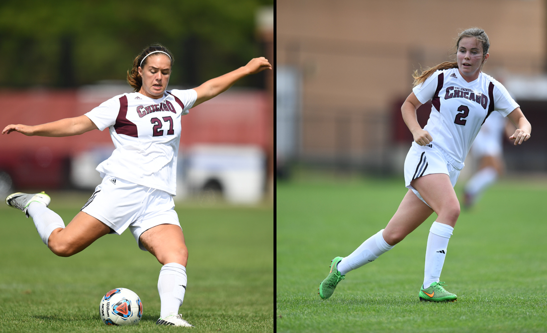 Shutout streak snapped as UChicago women's soccer tops MSOE 5-1