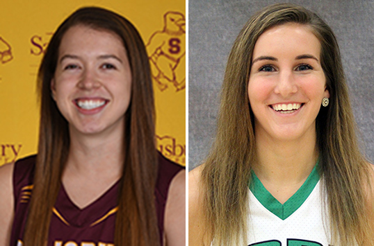 Salisbury Senior Julia McLaughlin and York Junior Sam Hruz Selected as CAC Women's Basketball Co-Players of the Week