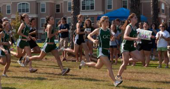 Women's Cross Country Holding #9 Regional Position