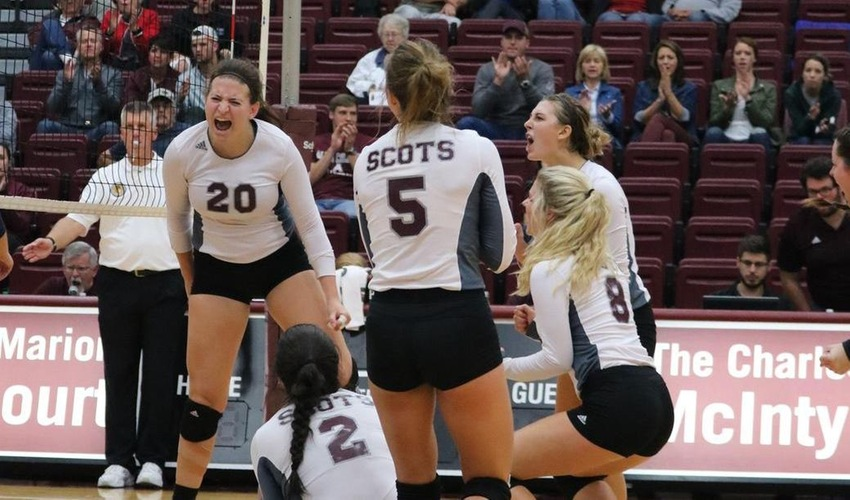 Volleyball Wins its Sixth Straight Match