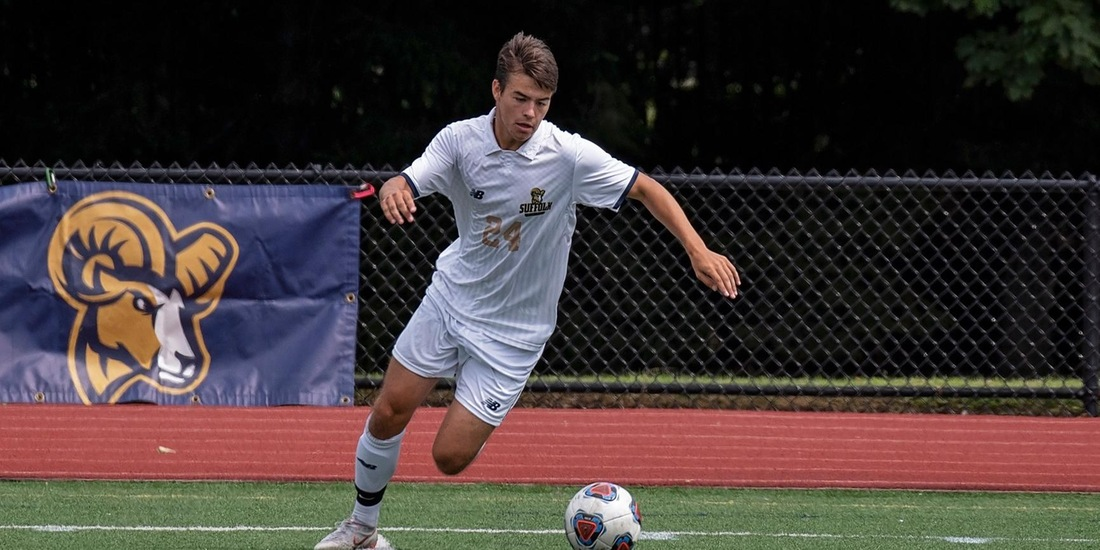 Perrotto Pushes Men's Soccer Past Fitchburg State, 1-0, in Season Finale