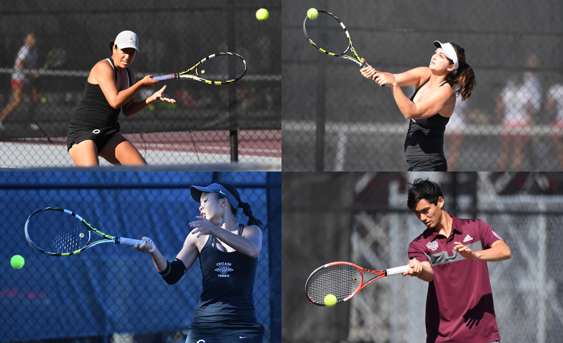 Four Maroons picked to UAA All-Tournament Tennis Teams
