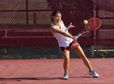 Spartans Struggle Against Top Seeded Bears, Falling 9-0 in Women's Tennis