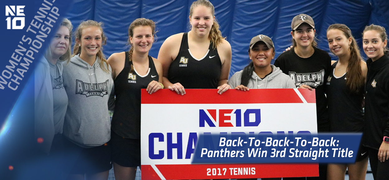 Embrace The Championship: Adelphi Three-Peat's as NE10 Women's Tennis Champions