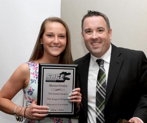 Koralus named women's lacrosse Gator of the Year