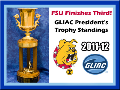 FSU Third In GLIAC President's Trophy Race